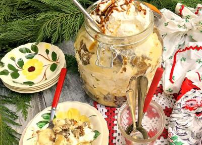 Gingerbread Banana Pudding