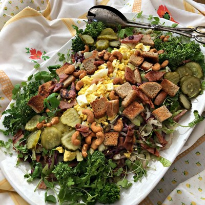 Honey Baked Ham Salad