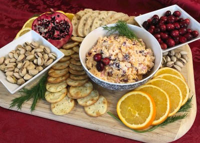 Holiday Pimento Cheese