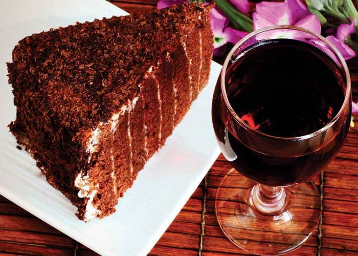 Honey Devil's Food Cake