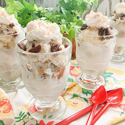Hummingbird Ice Cream Parfaits