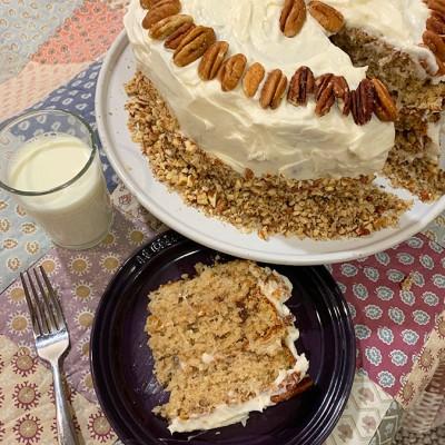 Italian Crème Cake