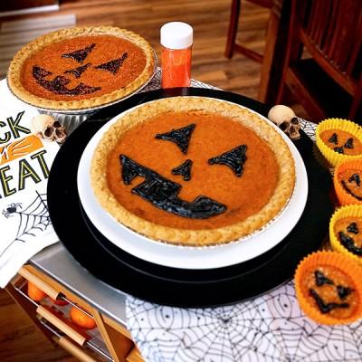 Jack-O-Lantern Pies