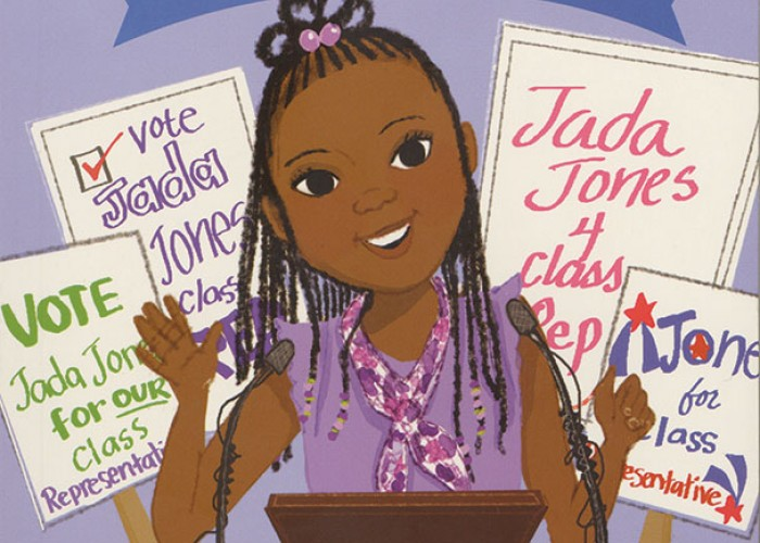 A Good Read: Jada Jones, Class Act