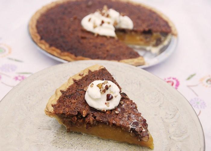 Jell-O Pudding Pecan Pie
