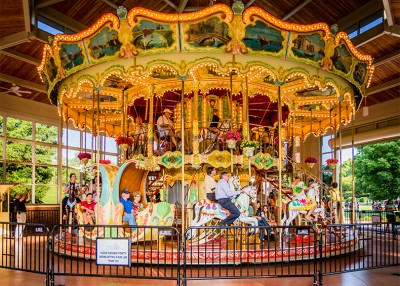 Take a Spin (On a Carousel!) Around the State
