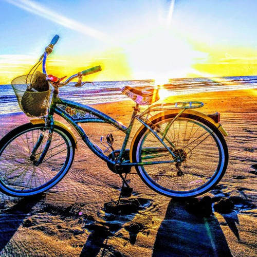 Beach biking on the beautiful, quaint Oak Island. Travelling through life comes in many forms… —Kate Karpovich, Southport, a member of Brunswick Electric