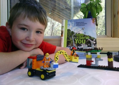 From Our Readers: Legoland and Potholders