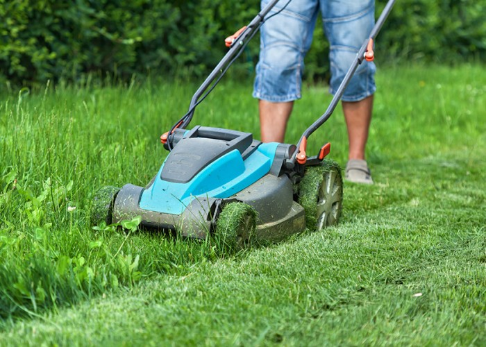Mowing with Electricity