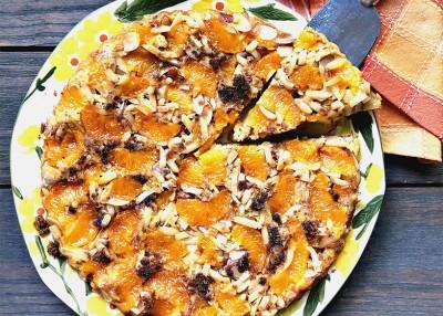 Mandarin Orange Upside-Down Cake