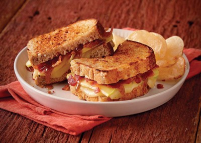 Maple Apple Grilled Cheese