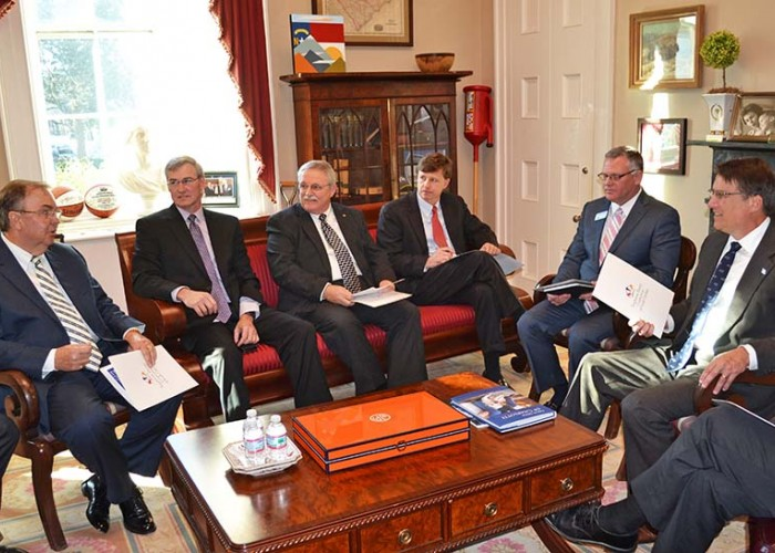 Meeting with McCrory