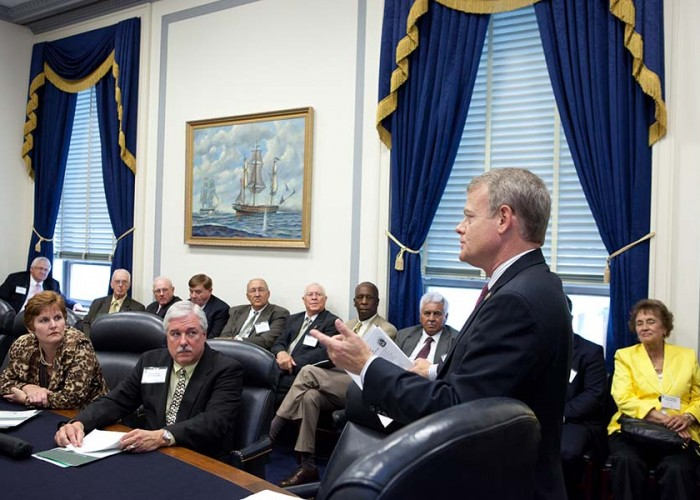 Electric cooperatives celebrate congressional careers