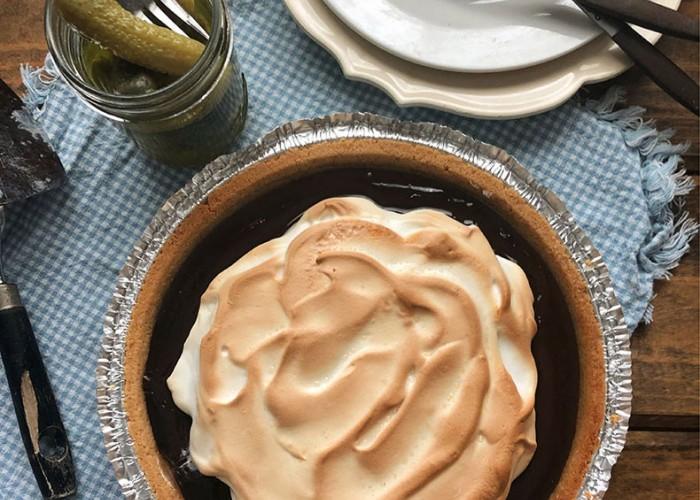 Menia's Chocolate Pie