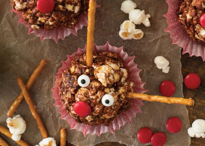 Chocolate Popcorn Critters