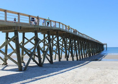 Oak Island Pier is Open for Business
