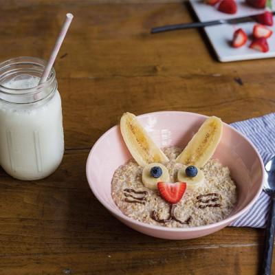 Funny Bunny Oatmeal