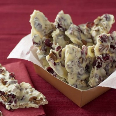 One Bowl Cranberry Bark