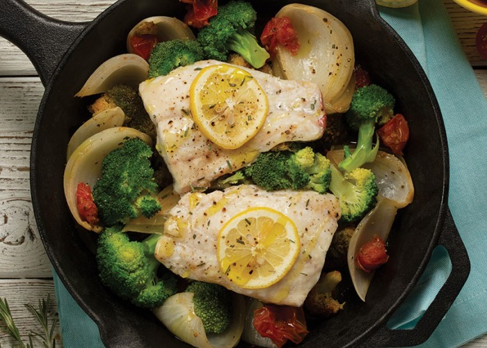 One Pan Fish Dish
