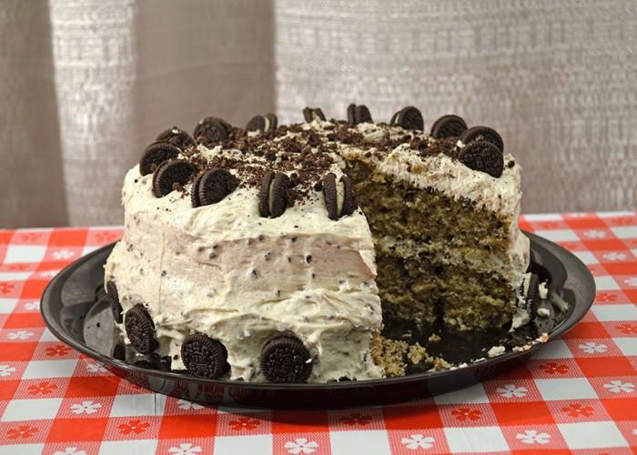 Oreo Explosion Cake