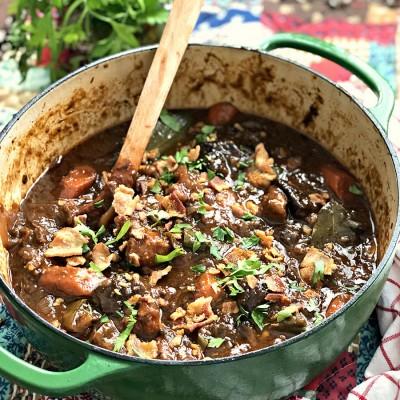 Savory Oxtail Stew