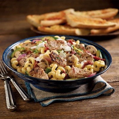 Italian Stir-Fried Pork and Pasta