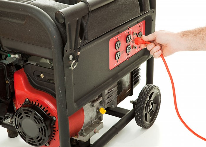 How to operate a portable generator safely