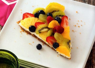 Pretzel Fruit Pizza