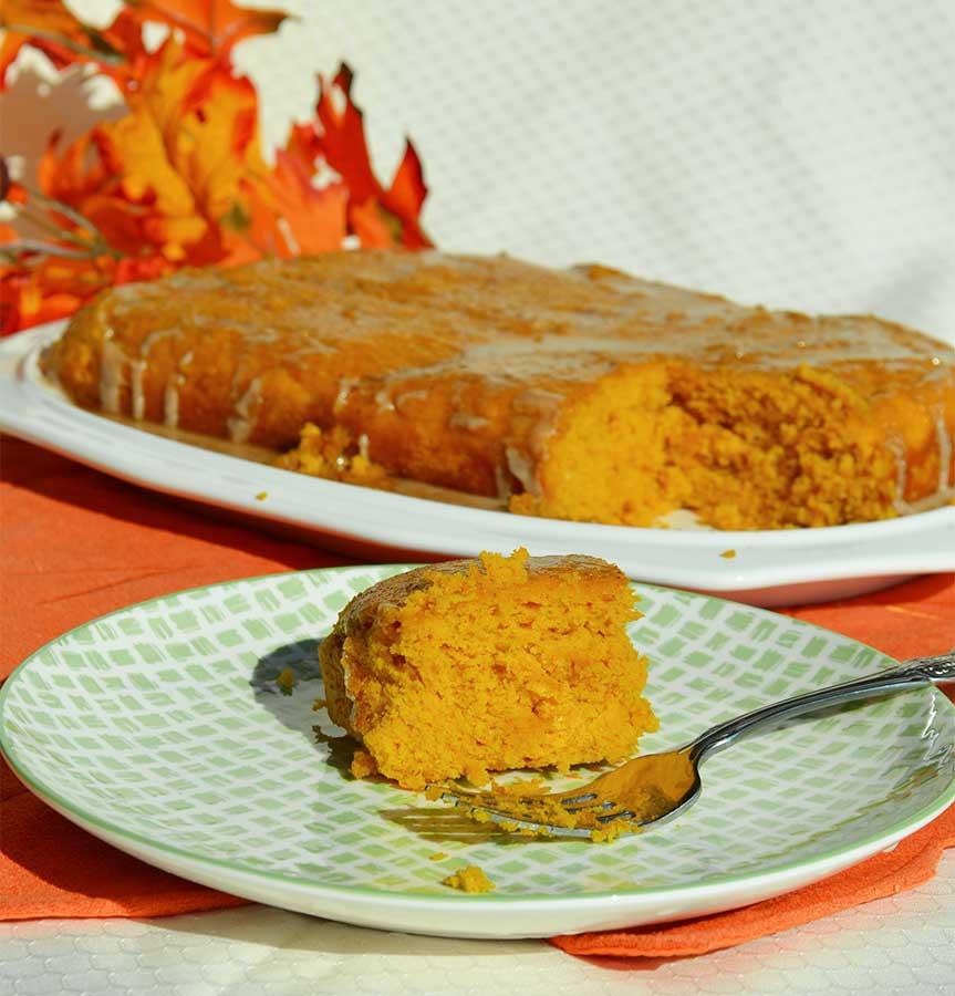 Apple Cider Glaze For Pumpkin Cake