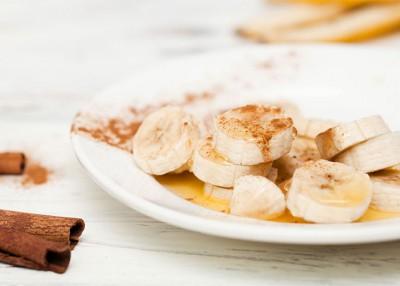 Quick Dessert: Cinnamon Bananas