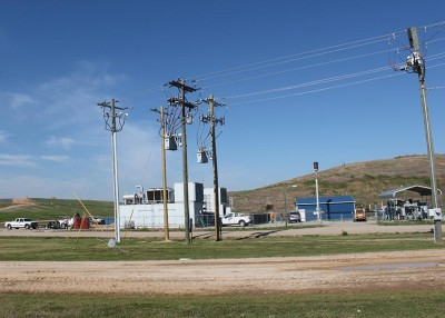 Lumbee River EMC helps Robeson County add energy generation at its landfill site