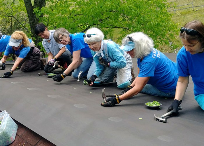 The Charitable Women Roofers of Rutherford County