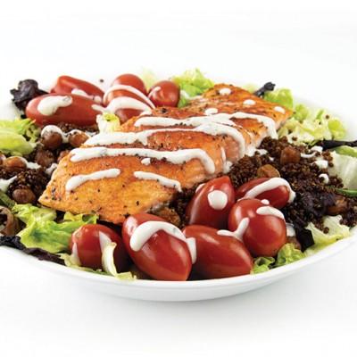 Salmon and Grains Salad Bowl