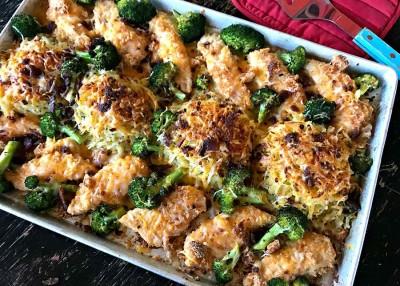 San Francisco Chicken Sheet Pan Supper