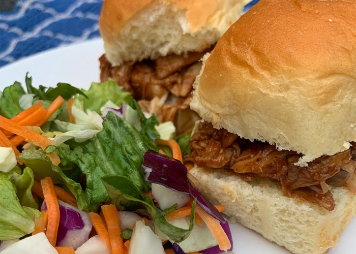 Saucy Chicken Sliders