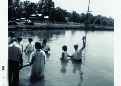 When I was baptized