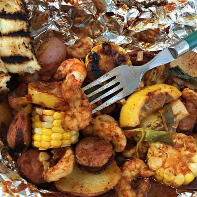 Carolina Cajun Shrimp Boil Packets
