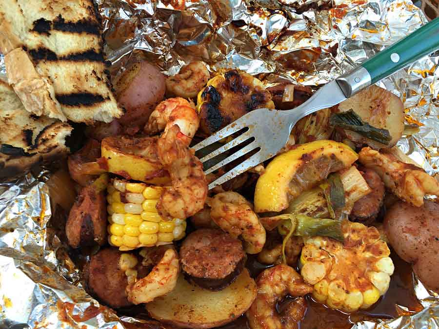 Carolina Cajun Shrimp Boil Packets