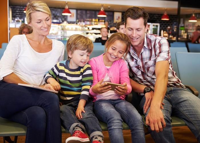 Smartphones ease travel stress
