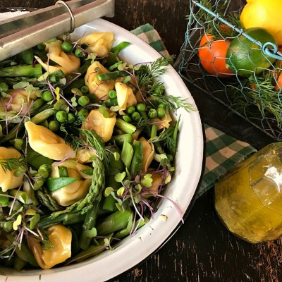 Spring Green Veggie-Pasta Salad