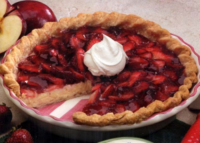 Strawberry Cream Cheese Pie