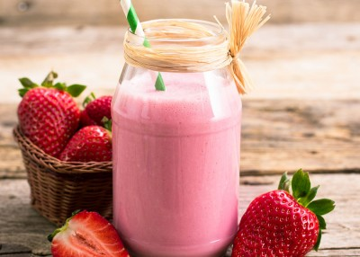 NC Strawberry Smoothie