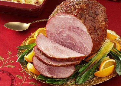 Sugar-Glazed Ham