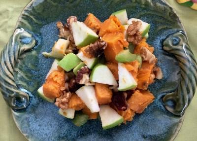 Sweet Potato-Apple Salad