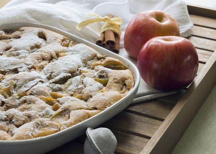 Heavenly Apple Bake
