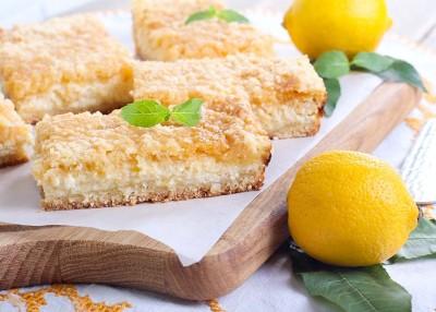Lemon Crumb Squares