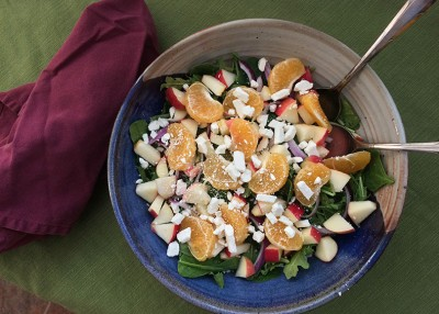 Tangerine-Apple Salad