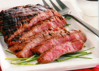 Tangy Sirloin Strips