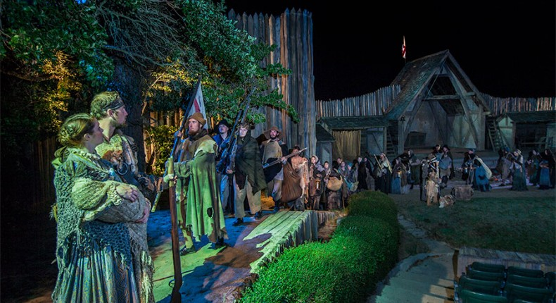 Outdoor Dramas Bring History to Life
