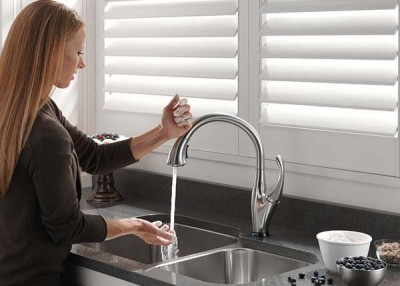 Touch-control faucets